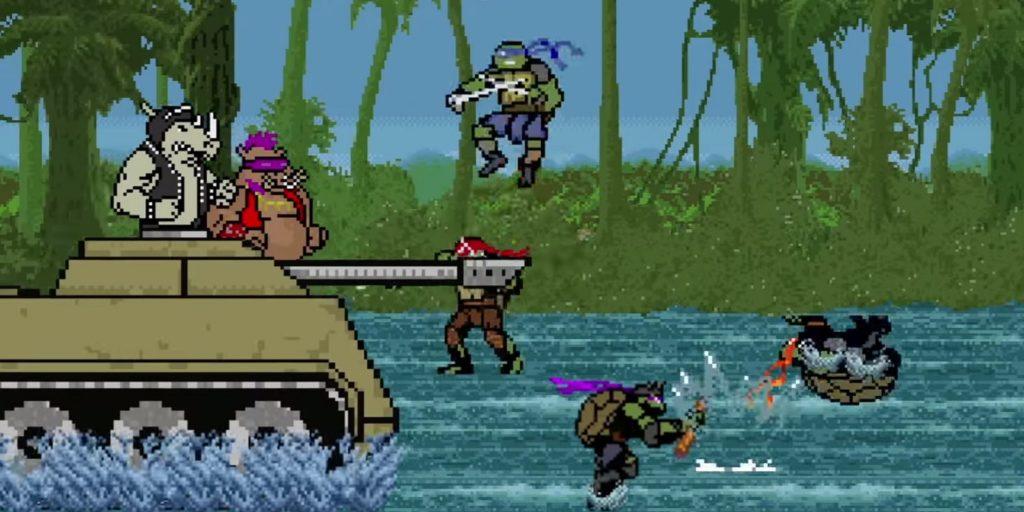 Teenage Mutant Ninja Turtles: Out of the Shadows Goes 8-Bit Cinema