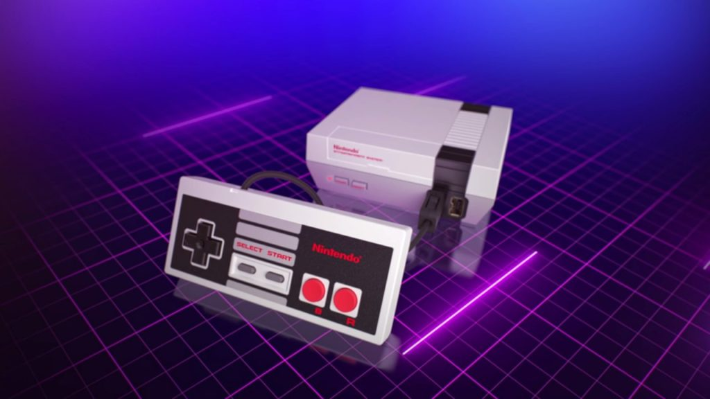 Nintendo is releasing a mini NES with 30 built-in games