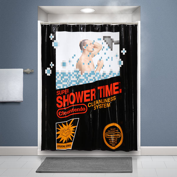 retro_gaming_shower_curtain_inuse